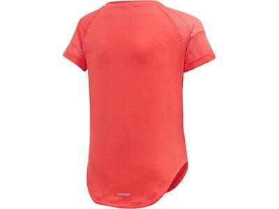 ADIDAS Mädchen T-Shirt Rot