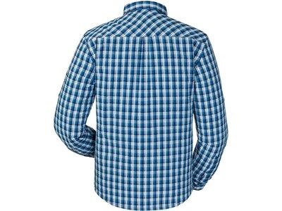 SCHÖFFEL Herren Hemd Kuopio2 Langarm Blau