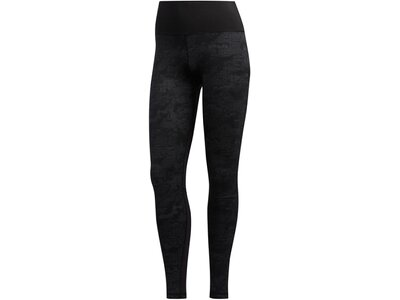"ADIDAS Damen Fitness-Tights ""Believe This HR L Camou Jacquard"" Pink"