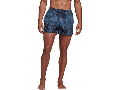"ADIDAS Herren Badeshorts ""3 Stripes Allover Printed"" Lila"