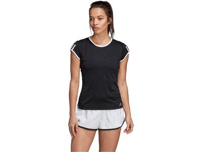 """ADIDAS Damen T-Shirt """"3-Streifen Club"""" Grau"""