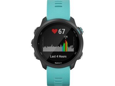 """GARMIN GPS-Laufuhr """"Forerunner 245 Music"""" blaues Armband Schwarz"""