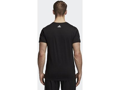 ADIDAS Herren T-Shirt ID Badge of Sport Schwarz