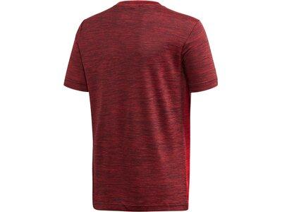 ADIDAS Jungen Trainingsshirt Kurzarm Rot