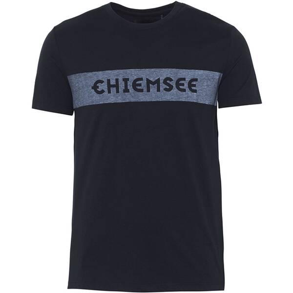 CHIEMSEE T-Shirt in bequemer Passform - GOTS zertifiziert Schwarz