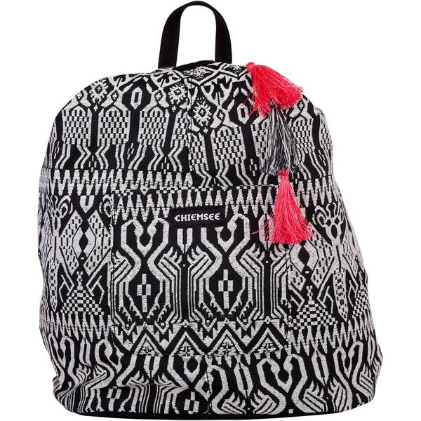 CHIEMSEE Rucksack Black&White Backpack