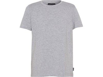 CHIEMSEE T-Shirt Kids mit Rückenprint - GOTS zertifiziert Grau
