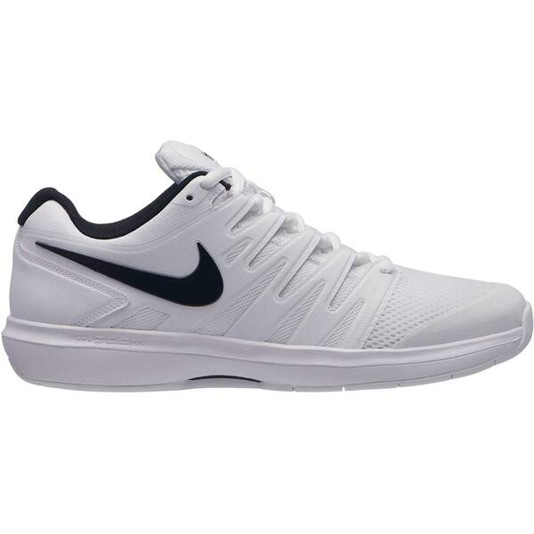 NIKE Herren Tennisschuhe Indoor Air Zoom Prestige Carpet | Schuhe > Sportschuhe > Tennisschuhe | White - Black | Gummi | Nike