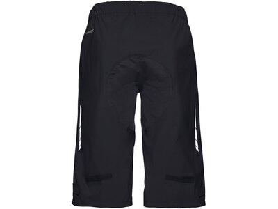 """VAUDE Herren Radshorts """"Moab Rain Shorts"""" Schwarz"""
