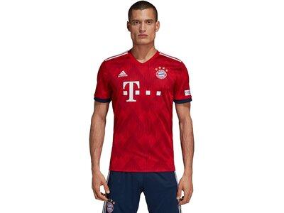 "ADIDAS Herren Fußballtrikot ""FC Bayern Home Jersey 2018/19"" Rot"