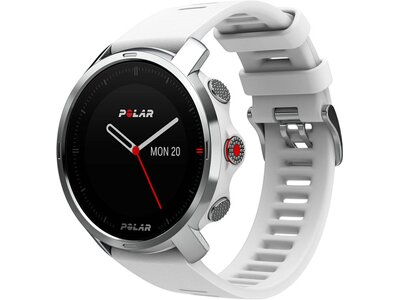 """POLAR GPS-Multifunktionsuhr """"Grit X WH S/M"""" Silber"""
