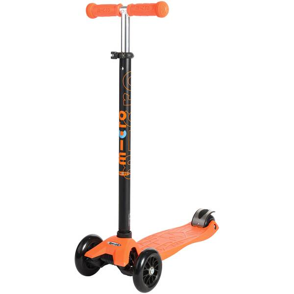 "MICRO Kinder Kickboard / Scooter ""Maxi Micro T-Lenker"" orange"