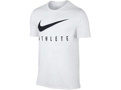 NIKE Running - Textil - T-Shirts Dri-FIT Swoosh T-Shirt Running Weiß