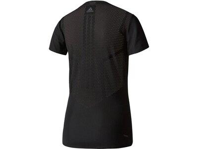 ADIDAS Damen Trainingsshirt Feminine Tee Schwarz