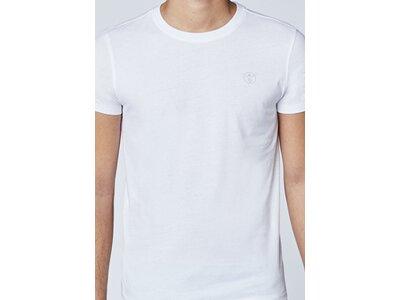 CHIEMSEE T-Shirt Doppelpack mit kleinem CHIEMSEE Logo Weiß