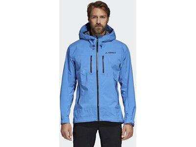 ADIDAS Herren Parley Three-Layer Jacke Blau