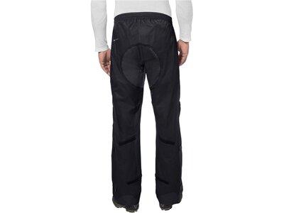 VAUDE Herren Rad-Regenhose Drop Pants II Short Size Schwarz