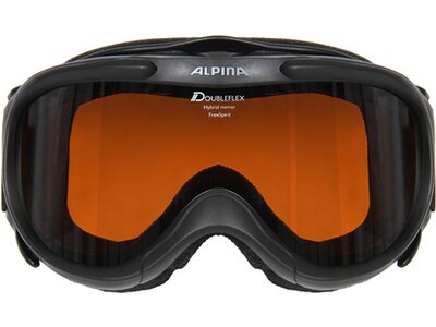 """ALPINA Skibrille """"Freespirit HM"""" Schwarz"""