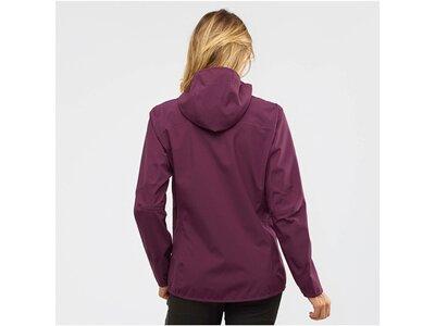 "SALOMON Damen Trekkingjacke ""Outline Jacket W"" Rot"