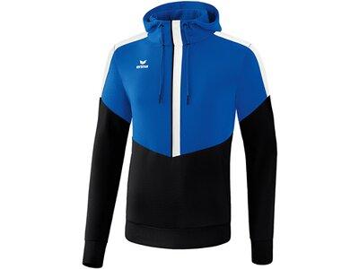 ERIMA Fußball - Teamsport Textil - Sweatshirts Squad Hoody Kids Blau