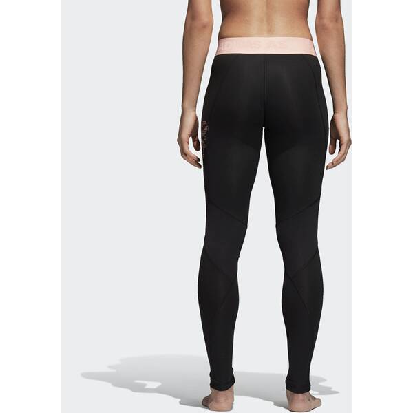 recognized brands top quality exclusive range ADIDAS Damen Alphaskin Sport lange Tight