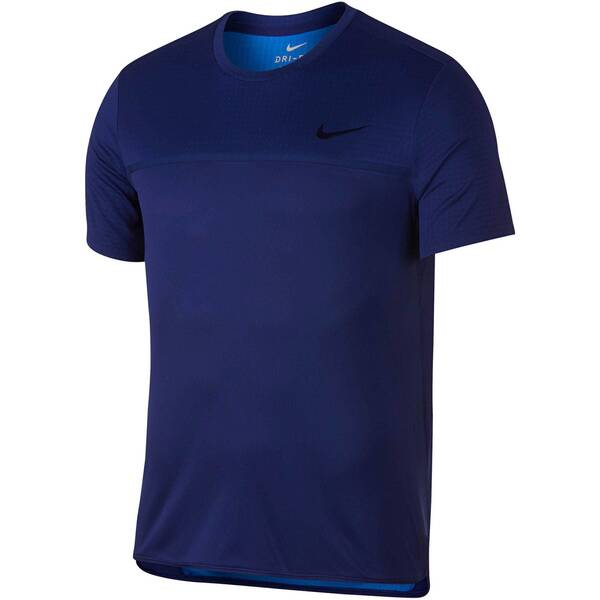 NIKE Herren Tennisshirt Challenger Crew Kurzarm | Sportbekleidung > Sportshirts > Tennisshirts | Nike
