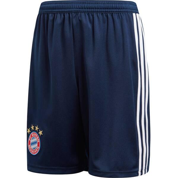 ADIDAS Jungen Fußballshorts FC Bayern Home Short Youth 2018/19