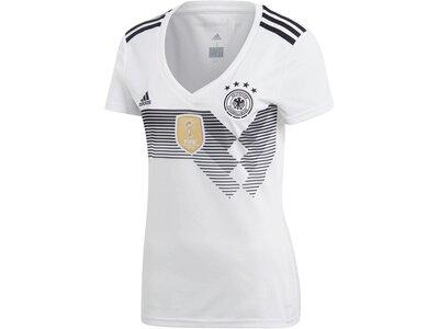 ADIDAS Damen Fußballtrikot DFB Home Trikot WM 2018 Weiß