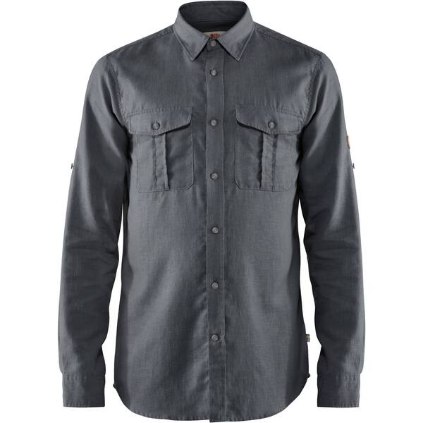 "FJÄLLRÄVEN Herren Hemd ""Övik Travel Shirt"" Regular Fit Langarm"
