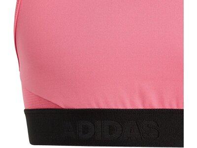 ADIDAS Damen Alphaskin Sport-BH Pink