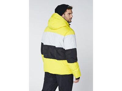 CHIEMSEE Skijacke mit Belüftungsschlitzen Gelb