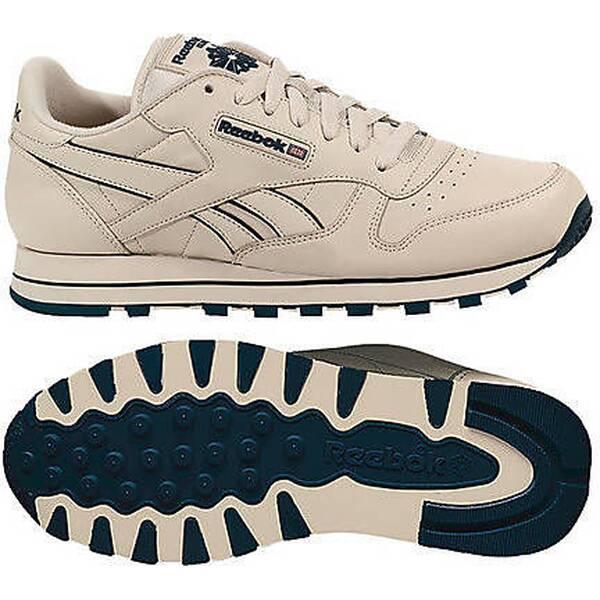 REEBOK Herren Sneakers Reebok Classic Leather Beige