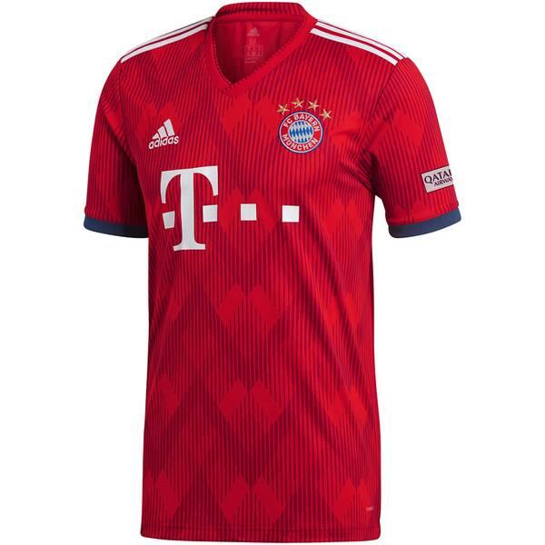 ADIDAS Herren Fußballtrikot FC Bayern Home Jersey 2018/19