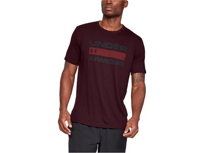 "UNDERARMOUR Herren Trainingsshirt ""UA Team Issue Wordmark"" Kurzarm Rot"