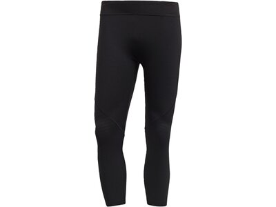 ADIDAS Herren Alphaskin Tech CLIMACHILL 3/4-Tight Schwarz