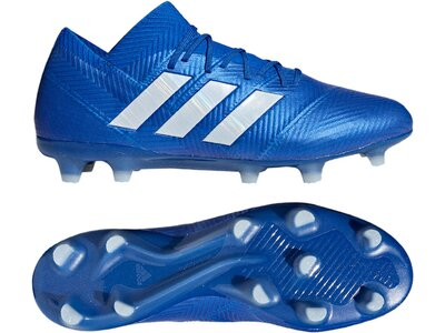 ADIDAS Fußball - Schuhe - Nocken NEMEZIZ Virtuso 18.1 FG Blau