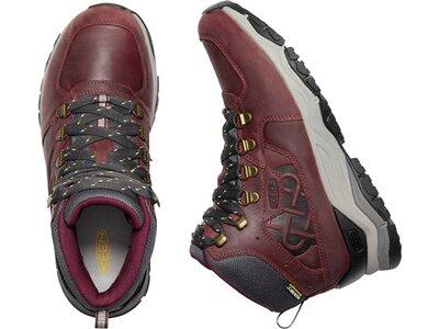 """KEEN Damen Trekkingstiefel """"Innate Leather Mid WP"""" Rot"""