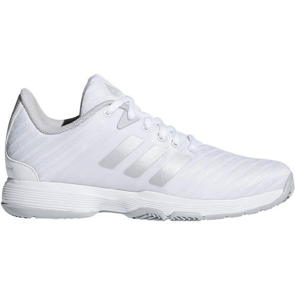 ADIDAS Damen Tennisschuhe Allcourt Barricade Court | Schuhe > Sportschuhe > Tennisschuhe | Weiß - Hellgrau | ADIDAS