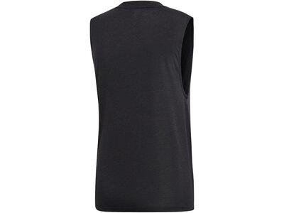 adidas Damen Tank Top Sportmode ärmelloses T-Shirt Grau
