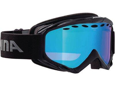 """ALPINA Herren Ski- und Snowboardbrille """"Turbo HM"""" Schwarz"""