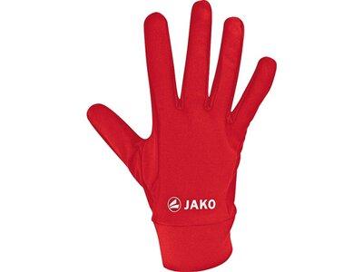 JAKO Feldspielerhandschuhe Funktion Rot