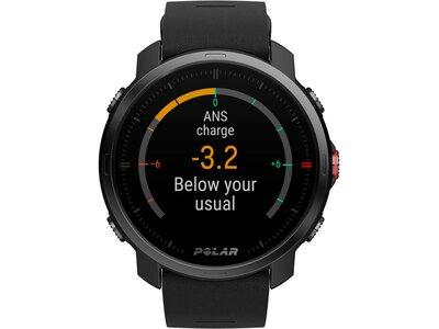"POLAR GPS-Multifunktionsuhr ""Grit X BLK M/L"" Schwarz"