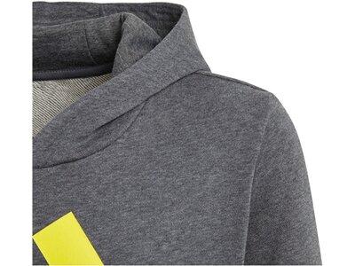 """ADIDAS Jungen Sweatshirt """"Essentials Logo Hoodie"""" Grau"""