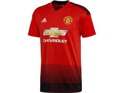 """ADIDAS Herren Fußballtrikot """"Manchester United Home Jersey"""" Kurzarm Rot"""