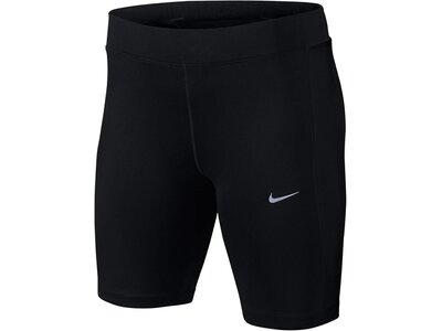 NIKE Damen Laufshorts / Lauftights Dri Fit Essential 8 Short Tight schwarz Schwarz