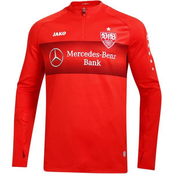 JAKO Herren VfB Teamline Fleece Ziptop