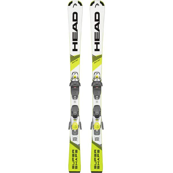 "HEAD Kinder Ski ""Supershape SLR Pro / SLR 7,5 GW"" inkl. Bindung"