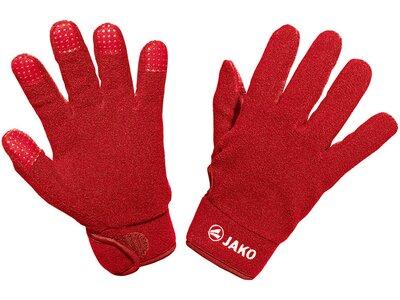 JAKO Feldspielerhandschuhe Fleece Rot