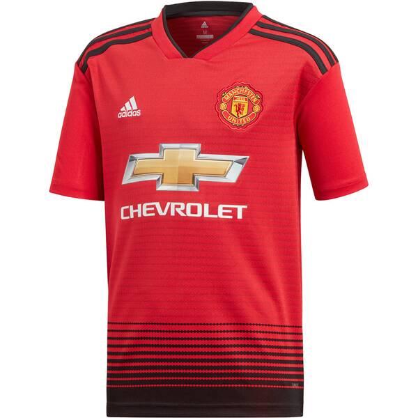 ADIDAS Kinder Fußballtrikot Manchester United Home Jersey Youth Kurzarm