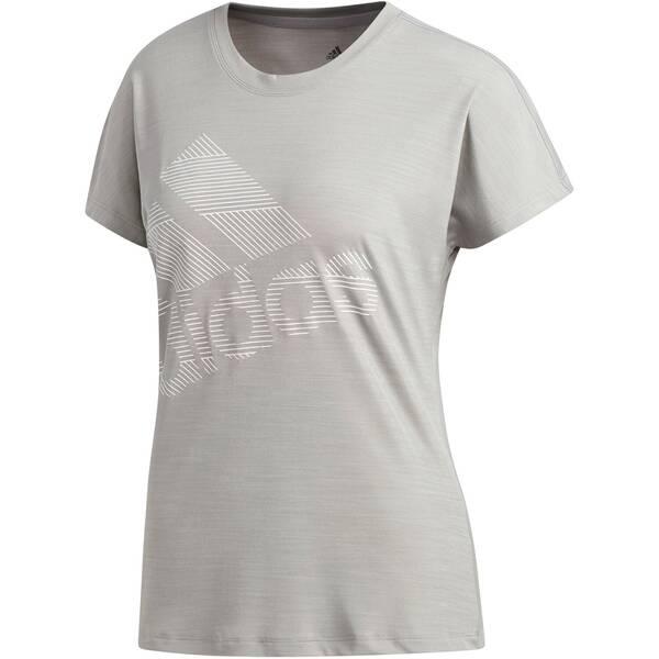 "ADIDAS Damen Trainingsshirt ""Badge of Sport"" Kurzarm"